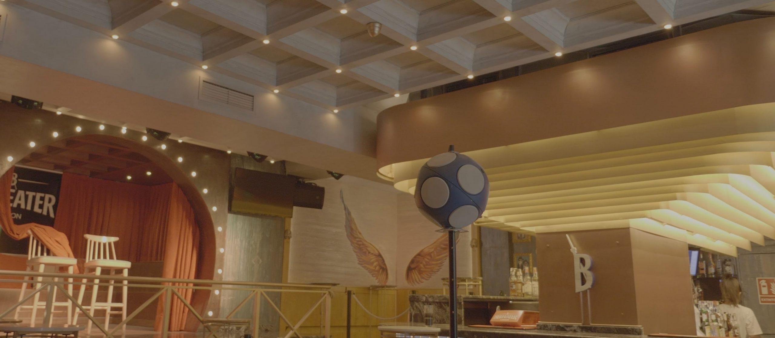 Banner 1 del proyecto Sala de fiestas Instante - Belios